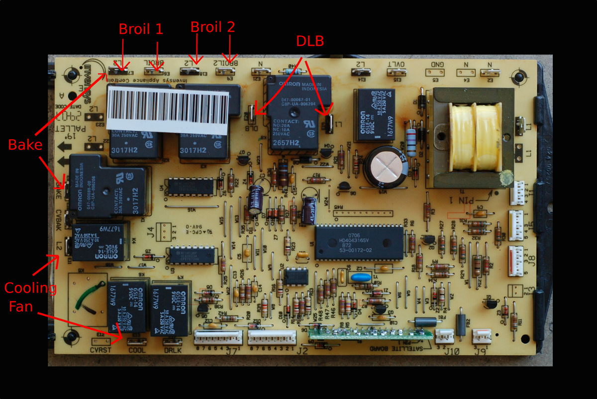 thermador_relay_power_board controller